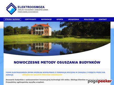 Bezinwazyjne osuszanie budynków Rzeszów, blokada przeciwwilgociowa.