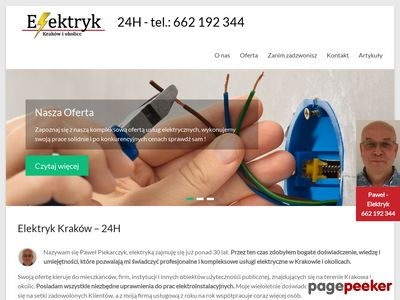 Instalacje elektryczne Kraków