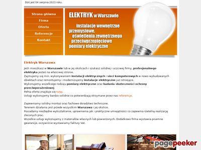 Elektryk Warszawa