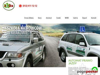 Kurs prawo jazdy Kraków