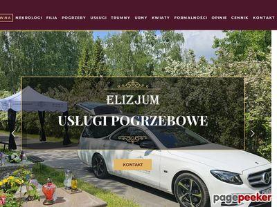 """Sylwia Piotrowska - Usługi Pogrzebowe """"ELIZJUM"""""""