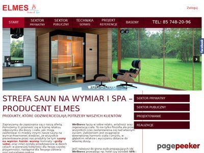 Producent saun Warszawa - Elmes