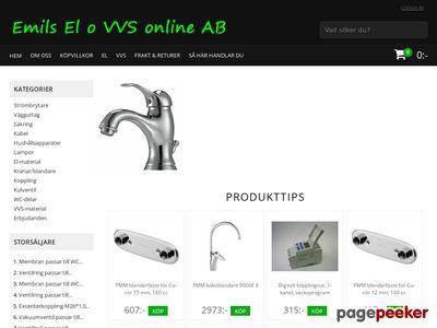 Emils El o VVS online AB - http://www.emilselovvsonline.se