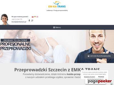EM-KA TRANS auto z windą szczecin