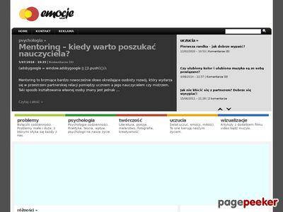 Blog pełen emocji - Emocje.net.pl