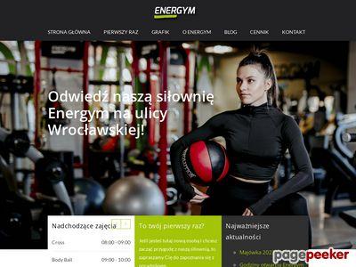 Siłownia i zajęcia fitness Kraków - Energym