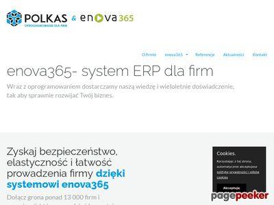 Oprogramowanie enova - Polkas