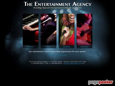 The Entertainment Agency Screenshot
