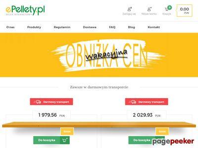 Gdzie kupić pellet? W epellety.pl