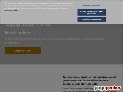 EQUIP'HOTEL Screenshot