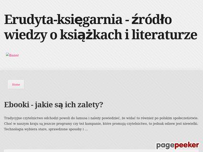 Księgarnia internetowa Erudyta