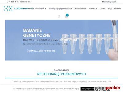 Euroimmundna - badania genetyczne
