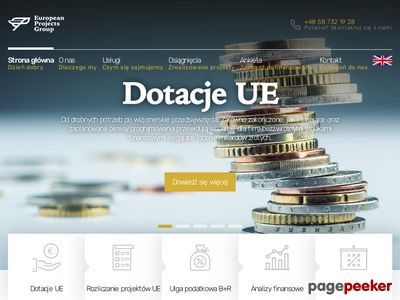 EuroPG - doradztwo inwestycyjne, dotacje
