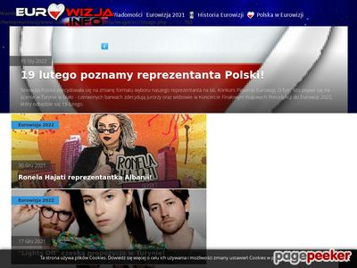 Eurowizja, Serwis fanów