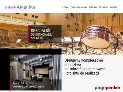 Ewkakustika Sp. z o.o. Pracownia akustyczna