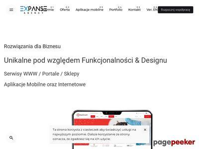 Agencja Expanse - prezentacje multimedialne, strony internetowe Łódź