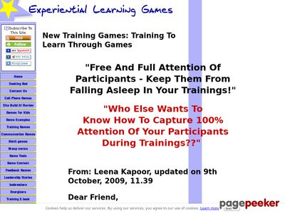 New training games. The e-book.