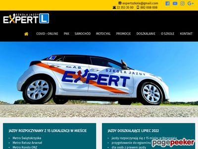 Expert Prawo jazdy Warszawa