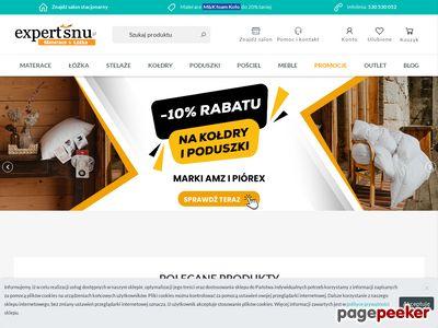 Expert Snu - sklep z materacami i wyposażeniem sypialni