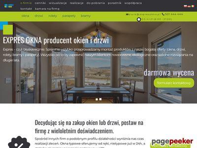 Expresokna - producent drzwi