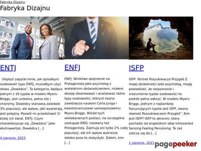 Projektowanie stron www z Fabryką Dizajnu