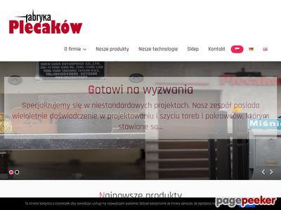 Plecaki reklamowe - Fabryka Plecaków