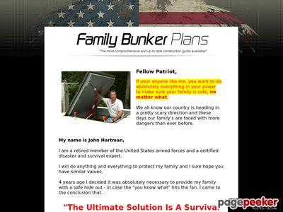 Family Bunker Plans