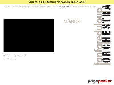 >Fanfare du Loup Orchestra (Genève) - A visiter!