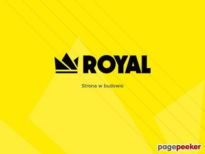Royal-Specjalistyczne farby do dachów, elewacji i stali.
