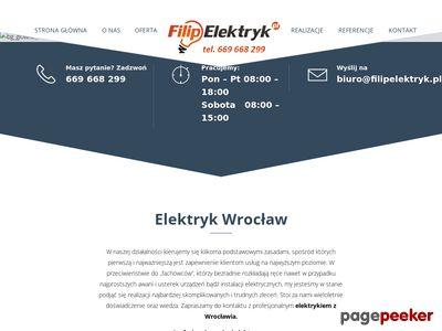Elektryk Wrocław - Filip Komuda