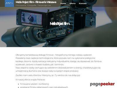 Filmowanie Warszawa, wideofilmowanie, montaż wideo, filmowanie konferencji
