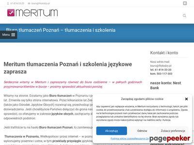 Kursy językowe Poznań