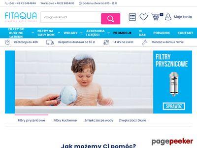 Filtry wody Warszawa