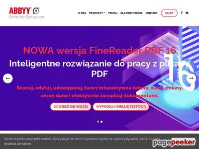 Tworzenie i edycja dokumentów z FineReader