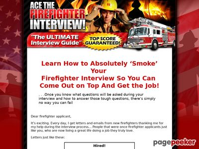 Ace The Firefighter Interview!
