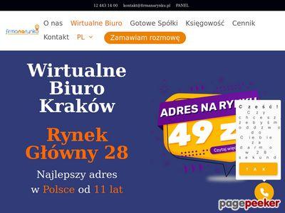 Wirtualne Biuro - Firmanarynku.pl