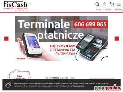 Kasy fiskalne serwis i sprzedaż zapewnia Fis Cash Warszawa