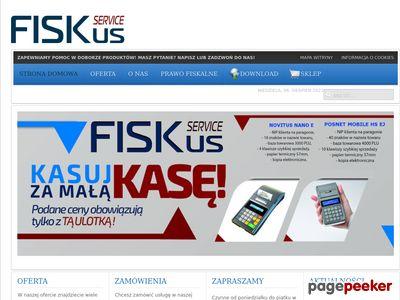 Kasy i drukarki fiskalne Poznań - Fiskus Service - Oferta