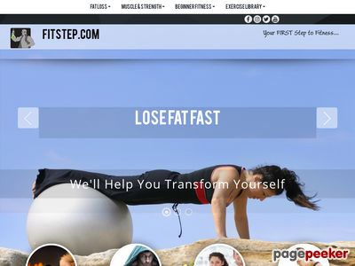 Fitstep.com – Your First Step to Fitness, Fat-Loss, Muscle, and Strength