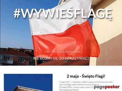 Produkcja flag Polski