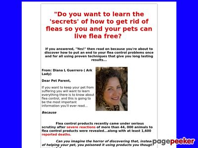 Flea Control Secrets: How to Get Rid of Fleas & Live Flea Free!
