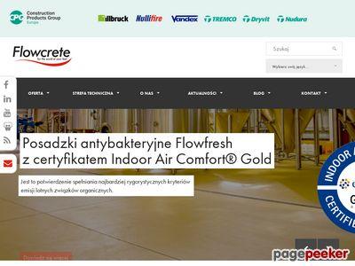 Posadzki przemysłowe Flowcrete podłogi żywiczne