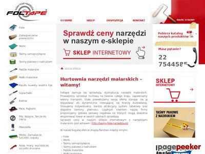 Folie bąbelkowe, malarskie, budowlane, tektura falista - hurt Warszawa