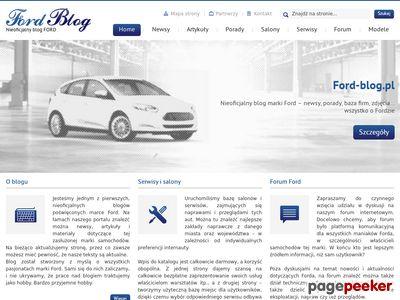 Blog o samochodach marki Ford - Ford-Blog.pl