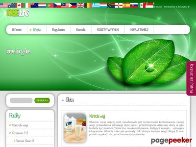 Forever Living Products - Sklep internetowy
