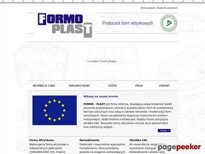 Firma Formo Plast - formy wtryskowe