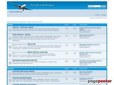 Forum-lotnicze.pl - latanie