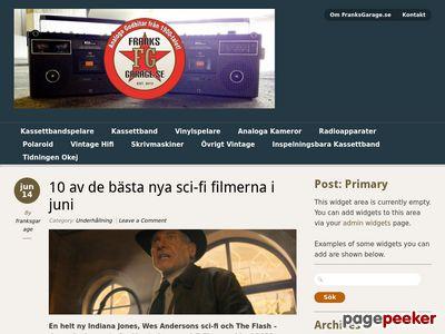 FranksGarage.se - Retro bergsprängare med mera - http://www.franksgarage.se
