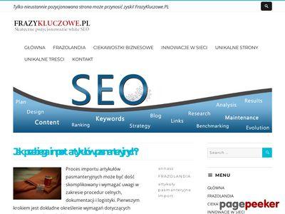 Http://frazykluczowe.pl