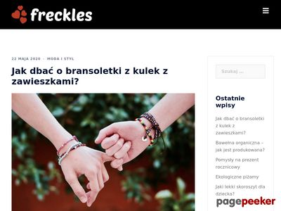 freckles.pl - Blog moda